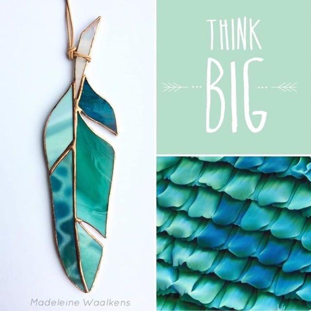 Handgemaakte Tiffany Glasveren